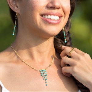 Beautiful Necklace And Earrings Set